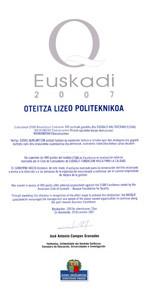 ZILARREZKO Q